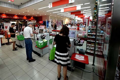 Self-checkout Counters Catch On At Singapore Supermarkets