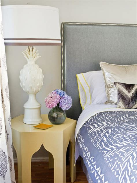 Upholstering A Headboard With Fabric by How To Upholster A No Sew Headboard Hgtv