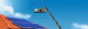Perche Telescopique Nettoyage Toiture : forfait nettoyage de modules panneaux solaires ~ Premium-room.com Idées de Décoration