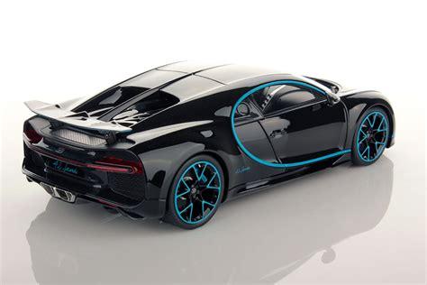 Bugatti Chiron Rear by Bugatti Chiron Zero 400 Zero Rear Wing Up 1 18