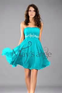robe de mariã e turquoise robe de cockail souplesse turquoise