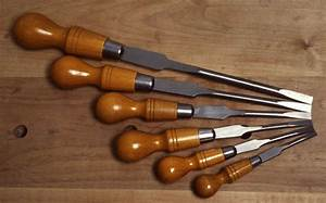Beech Handled English Cabinetmaker's Screwdrivers