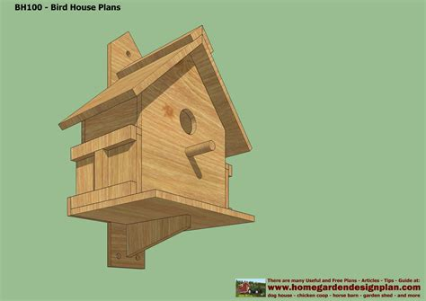 build a house free home garden plans bh102 bird house plans construction