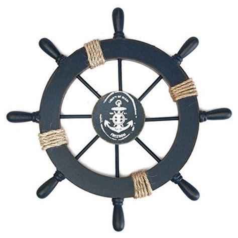 Badezimmer Deko Anker by Rosenice Steuerrad Mit Anker Holz Wanddeko Maritime Deko