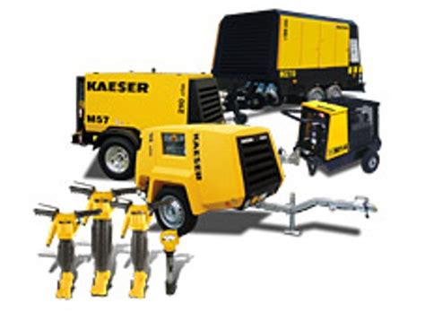 portable tow  rotary screw diesel air compressors