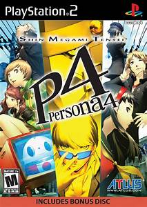 Persona 4 Sony Playstation 2 Game