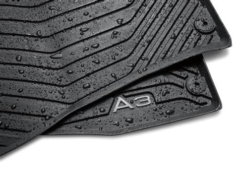 Audi Guard All Weather Floor Mats by 2017 Audi A3 Audi Guard Protection Kit Mats Floor Cargo