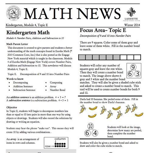 Grade 3 Module 1 Topic A Parent Newsletter Developed By 106 Best Grade K Eureka Math Images On Eureka