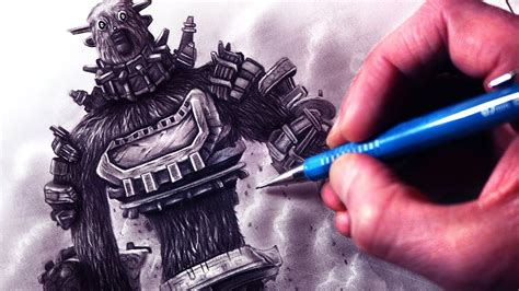 Lets Draw Shadow Of The Colossus Fan Art Friday Youtube