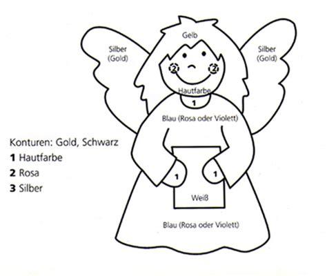 sarah  bastelanleitungen weihnachten engel
