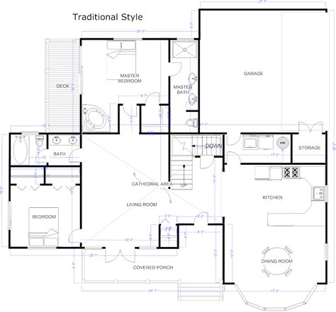 create a floor plan free floor plan maker draw floor plans with floor plan templates