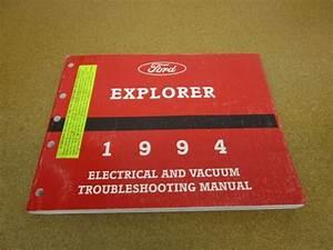 1994 Ford Explorer Wiring Electrical Diagram Dealer Repair