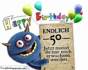14 Geburtstag Feiern Ideen : gl ckw nsche zum 50 geburtstag lustig erwachsen geburtstagsspr che welt ~ Frokenaadalensverden.com Haus und Dekorationen