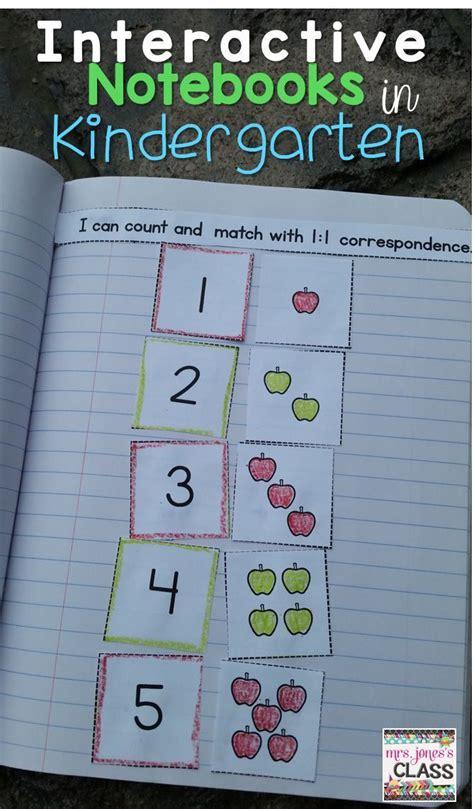 interactive notebooks in kindergarten yes 216   cac290eac6e4d80fb1b77e85ea6628c9 teaching kindergarten preschool math