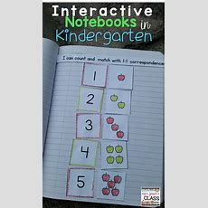 Interactive Notebooks In Kindergarten? Yes Please!  Kinderland Collaborative