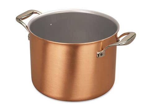 signature range cm copper cauldron falk copper cookware