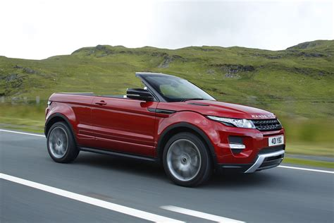 the range rover evoque convertible will be the greatest car in the history of mankind