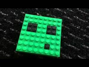 Lego minecraft slime face - YouTube