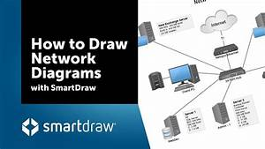 How To Draw Network Diagrams With Smartdraw