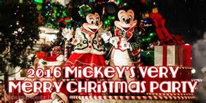 Mickeys Very Merry Christmas Party Tickets
