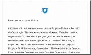 Dropbox Rechnung : mail von dropbox erhalten diese hier stellt keine gefahr ~ Themetempest.com Abrechnung