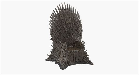 iron throne 3d model, iron throne 3d max - 3D Models for Professionals, Game of Thrones - Iron Throne by Katan - Thingiverse.
