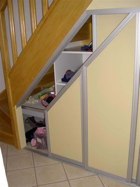 placard coulissant sous escalier best sous luescalier des