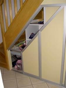 Aménagement Sous Escalier : dressings et placards menuiserie douai nord ~ Preciouscoupons.com Idées de Décoration