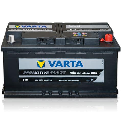 Autobatterie 12V 88Ah SHD RF Schlepper Traktor VARTA ...