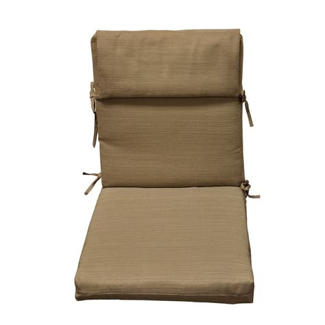 allen and roth patio furniture cushions shop allen roth brown patio chair cushion at lowes