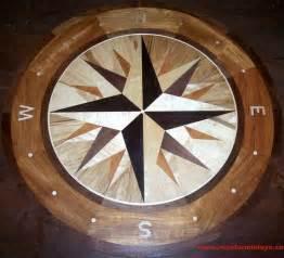 wood floor medallions floor medallion inlay wood compass photo holten hardwood floor