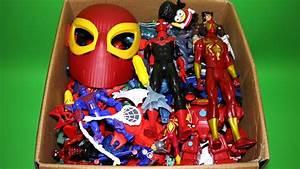 Box Of Toys  Marvel Mashers  Cars  Spiderman Titan Series