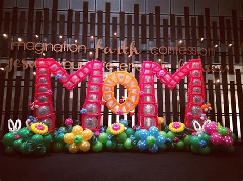 balloon decorations  mother day singapore  balloons