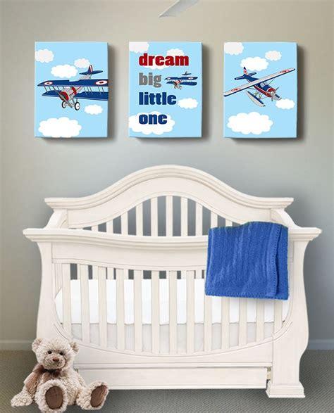 Wall dcor this nursery and tarnish resistant. Dream Big - Airplane and Hot Air Balloon Nursery Decor ...