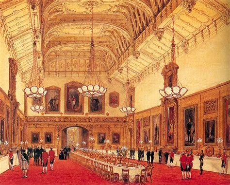 CGFA- Joseph Nash: The Waterloo Chamber, Windsor Castle