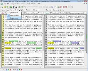 compare adobe pdf documents use cases With compare documents word and pdf