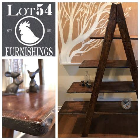 rustic ladder shelf madebylot54 on etsy https www etsy