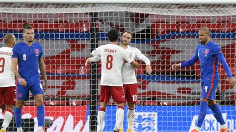 England 0-1 Denmark: Three Lions pay penalty after Maguire ...