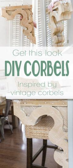 How To Make A Corbel by 1000 Images About Corbels Diy On