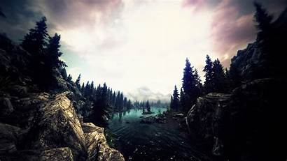 Skyrim Awesome Wallpapers Riverwood Nexus Mods Cave