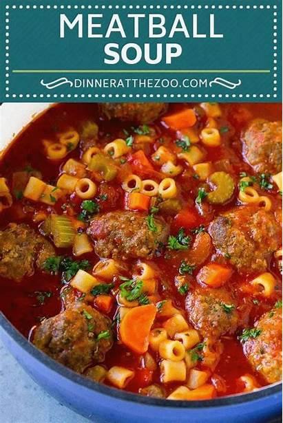 Soup Meatball Recipes Meatballs Beef Italian Pasta