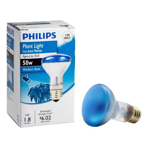 philips agro lite 50 watt incandescent r20 indoor plant