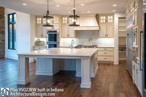 Plan 95023RW: Traditional House Plan with Craftsman