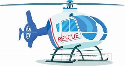 Rescue Helicopter Clipart Transportation Patrol Aircraft Transparent