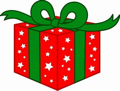 Christmas Gift Clip Present Presents Clipart Holiday