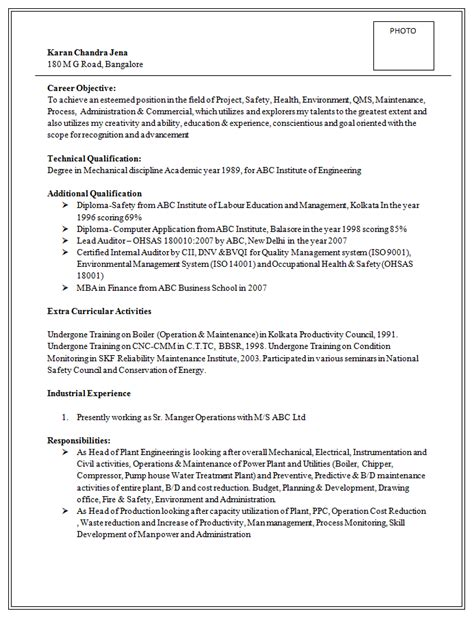 Resume For Assistant Manager Position by Excellent And Professional Assistant Manager Resume Sle