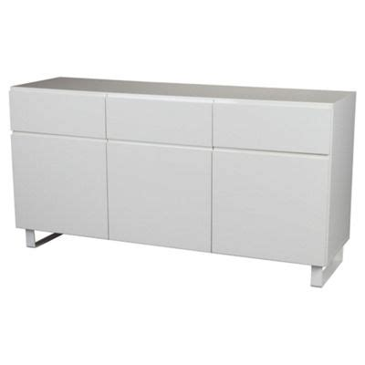 Tesco Sideboards by Buy 3 Drawer 3 Door Sideboard White From Our