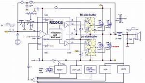 Class D Mosfet Power Amplifier