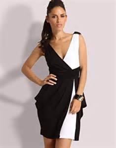 robe de mariã e noir et blanche robe de soirée noir et blanche par joulayy5