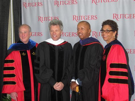 Rutgers University Camden Awards Honorary Degree Jon